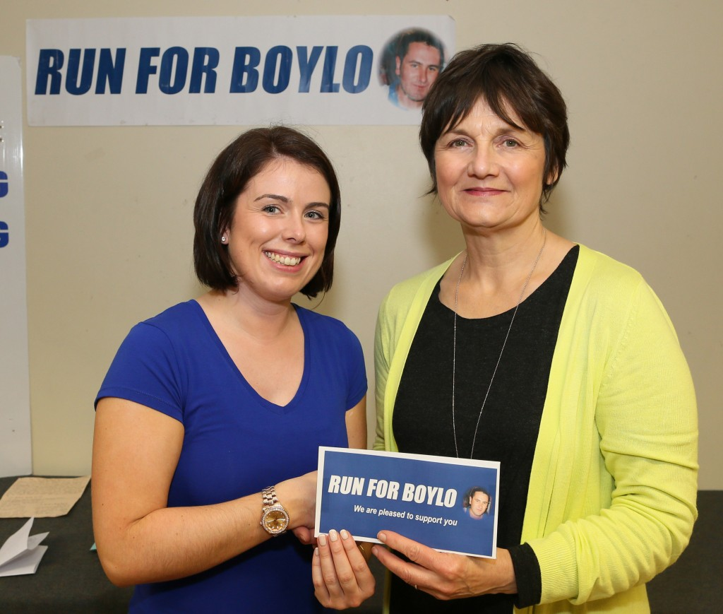 Run for Boyle Presentation to Mayo Cancer Support
