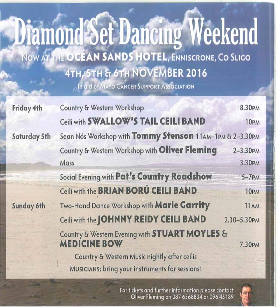 Diamond Set Dancing Nov 2016