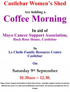 Poster For coffee morning