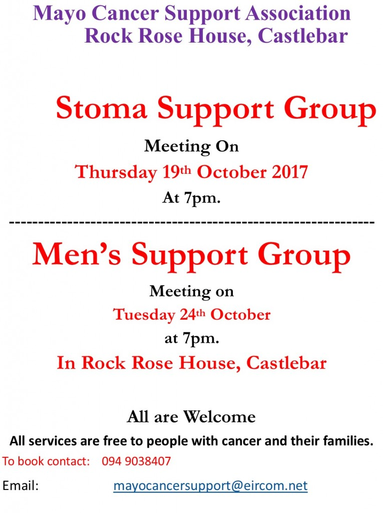 Mens Stoma groups poster