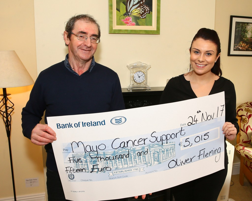 Oliver Fleming Cheque Presentation 2