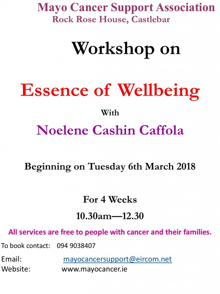 Essence of Wellbeing 2018