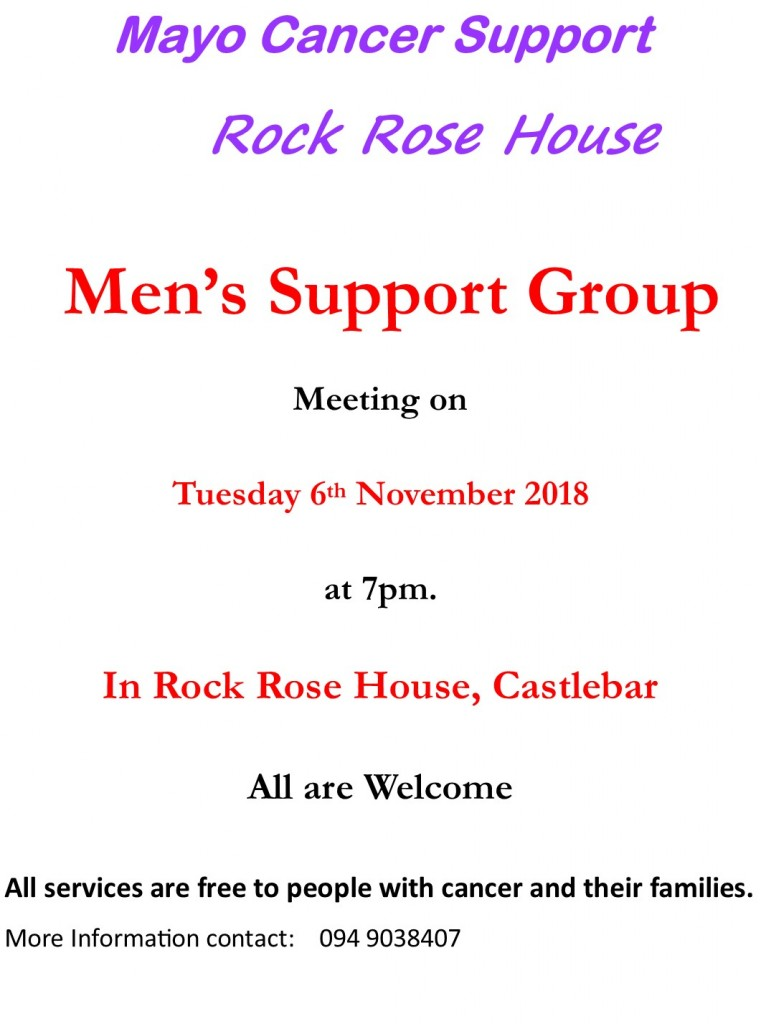 Mens Support Group 2018